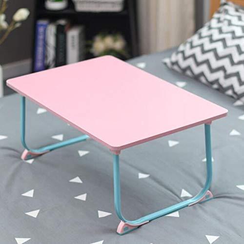 Movable escritorio del ordenador portátil plegable portátil de escritorio de la computadora de escritorio Lazy Pequeño Tabla uso en la cama simple de diseño Mesas de 40x60cm for portátiles Mesa cama r