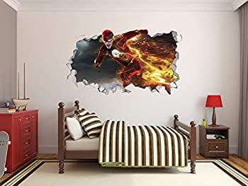 the flash wall stickers