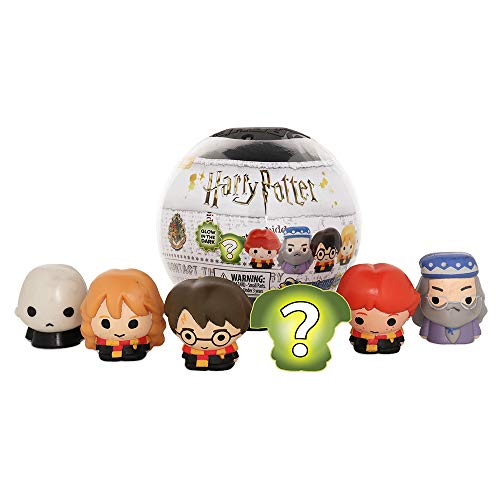 Basic Fun Official Mash'ems Super Sphere - Harry Potter Series 1 - Squishy Collectible Figures - 6 Pack - Amazon Exclusive