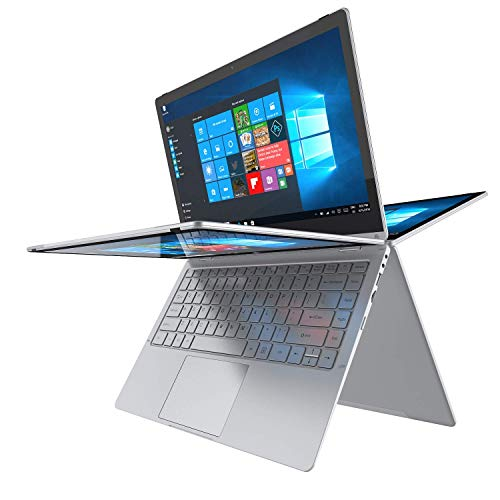 13.3-Zoll 2in1 Laptop PC-Convertible Notebook - Winnovo VocBook Intel Celeron N3350 4GB RAM 64GB eMMC FHD IPS Touch Dual WiFi 10000mAh HDMI Windows 10