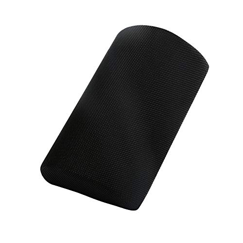 Chunyu Ergonomic Foot Rest Cushion Under Desk Massage Ball The Most Comfortable Footrest for Home, Office, Orthopedic Foam for Feet, Knee, Back Pain Relief[Black]