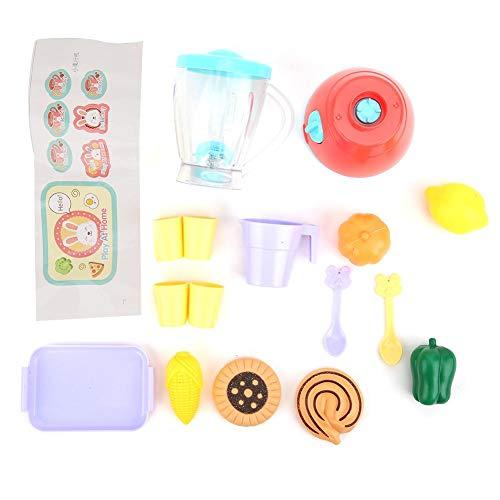 Jacksking Kunststoff Mini Entsafter Spielzeug, interessante Exquisite Verarbeitung Kinder Entsafter Spielzeug, Kid Pretend Play Toy Set für Kinder zum Spielen(juicer)
