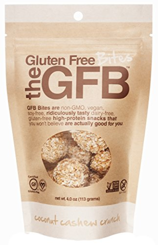 Gluten Free Bites, Coconut Cashew Crunch, 4 ounce Bag