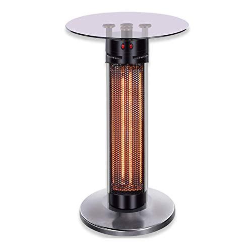 DJLOOKK 1900W Elektrische Terrassenheizung, Überhitzungsschutz Stehende Außenheizung, Wetterfest, Für Terrassenschlafzimmer