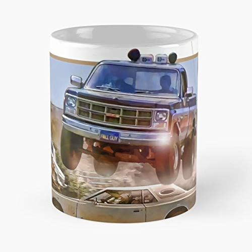 Tv The Guy Truck Fall Stuntman Show Majors Gmc Lee Seavers Colt Best 11 oz Kaffeebecher - Nespresso Tassen Kaffee Motive