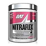 GAT Sport NITRAFLEX, Testosterone Boosting Powder, Increases Blood Flow, Boosts Strength and Energy, Improves Exercise Performance, Creatine-Free (Pink Lemonade, 30 Servings)