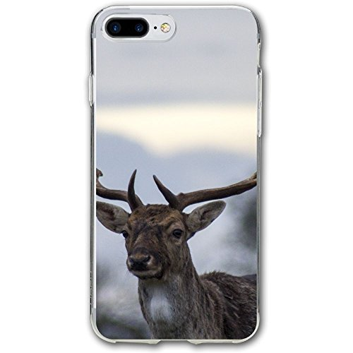 Case for iPhone 7 Plus Deer Antlers Wildlife Slim Fit Shell Full Protective Anti-Scratch Resistant Cover Apple iPhone 7 Plus Case