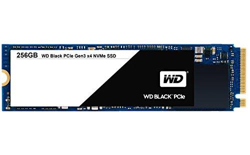 WD Black 256 GB interne M.2 2280 Festplatte NVMe PCIe SSD, bis zu 2050 MB/s Lese- und 700 MB/s seq. Schreibgeschwindigkeit