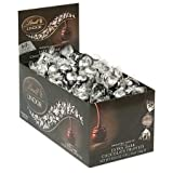Lindt LINDOR 60% Extra Dark Chocolate Truffles, Kosher, 60 Count Box x pack of 2 (total 120 count)