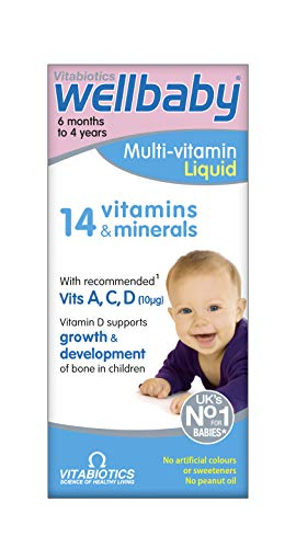 Vitabiotics Wellbaby Multi-Vitamin Liquid, 150 ml