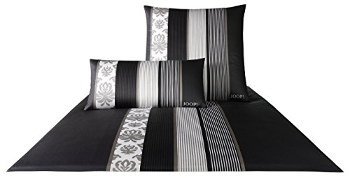 Joop! Mako Satin Bettwäsche Ornament Stripe 135x200 4022/9