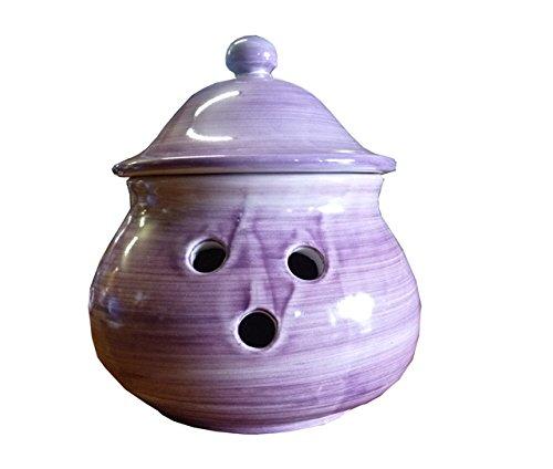 Stendhal Art.VT08 Porta Cipolla Ceramica di Vietri Dipinto a Mano