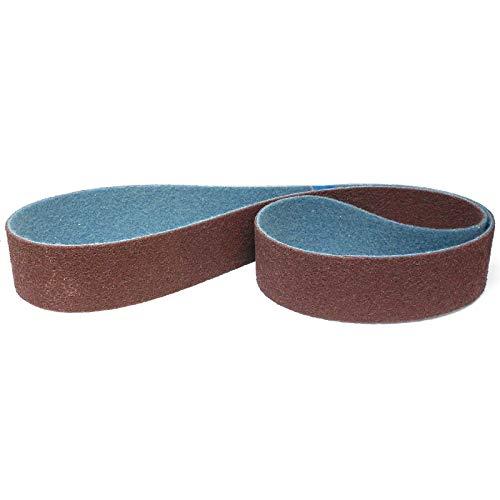 Score Abrasives Pro Line Vlies-Schleifband/Vliesband   75 x 2000 mm   1 Stück   Körnung: medium/mittel/rot (P120 - P150)