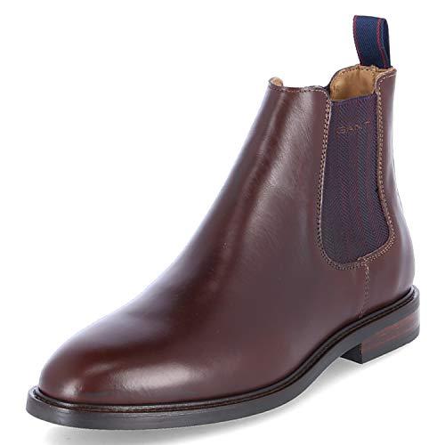 GANT Footwear Herren Ricardo Chelsea Boots, Braun (Dark Brown G46), 43 EU