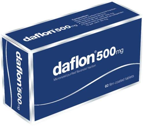 DAFLON 60 compresse rivestite 500MG