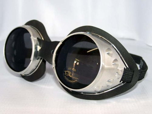 Classic Round Lens Moto Goggles Motorcycle MX Convertible Motorbike Scooter Interchangeable Lenses Steampunk Burning