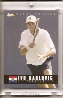 2005 Ace Authentic Ivo Karlovic Croatia #89 Tennis Card - Mint Condition - In Screwdown Display Case