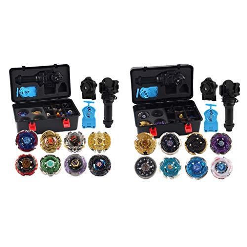 yotijar Paquete de 2 Piezas Gyro Set Quickness Fight Burst Toys Juguetes para