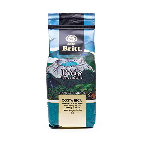 Café Britt® - Costa Rican Origins Coffee Bundle (12 oz.) (3-Pack) (Tarrazú, Tres Ríos & Poás) - Whole Bean, Arabica Coffee, Kosher, Gluten Free, Gourmet & Medium Light & Dark Roast