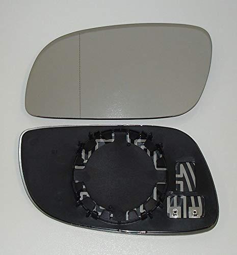 Spiegelglas links Pro!Carpentis kompatibel mit Touran bis Facelift 04/2009- beheizbar Ersatzglas für Außenspiegel Rückspiegel ACHTUNG: nur für Touran