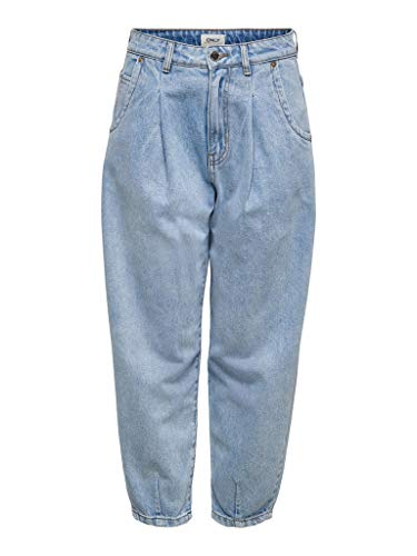 ONLY - Balloon-Jeans in Light Blue