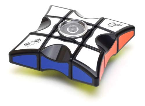 QiYi Spinner Magic Cube 1x3x3 MoFangGe, Noir