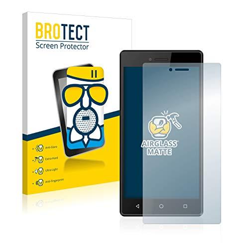 BROTECT Protector Pantalla Cristal Mate Compatible con Qilive Q7 Protector Pantalla Anti-Reflejos Vidrio, AirGlass