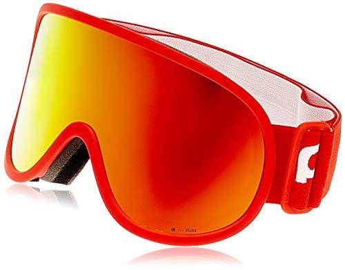 POC Unisex-Adult Retina Big Clarity Skibrille, Prismane Red/Spektris Orange, ONE