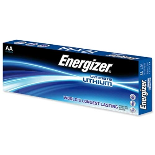 Energizer Ultimate Lithium AA Mignon Pila Pack 10 uds., 1,5V, Li-FeS 2