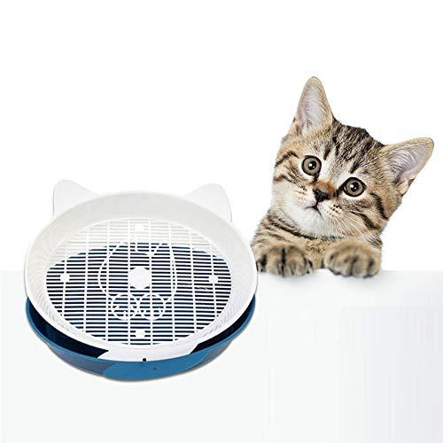 Hot Selling Pet Kattenbak Wastafel Ronde Gesloten Kat Wc Bed Pannen Met Mini Duurzaam De Gooi Emmer Grote Maat Wc Voor Katten