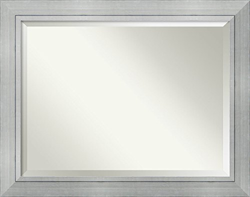 Framed Mirrors for Wall | Romano Silver Mirror for Wall | Solid -