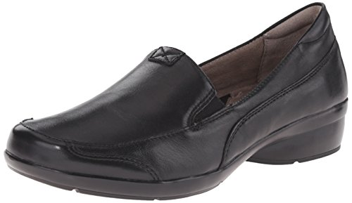 Naturalizer womens Channing loafers shoes, Black, 9.5 US