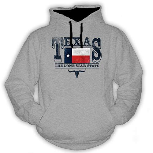 P-T-D Texas grau Hoodie (L)