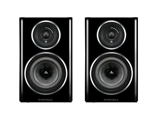 Wharfedale DIAMOND 11.2 125W Black, Silver loudspeaker - Loudspeakers (2-way, 125 W, 48-20000 Hz, 8 Ω, Black, Silver)