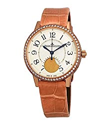 Rendez-Vous Automatic Cream Dial Pink Leather Watch Q3572420