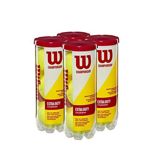Wilson Champ XD Tennis Ball - 4 Can Pack