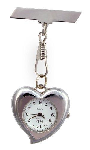 Taschenuhr, Herzform, Geschenkidee für Schwestern