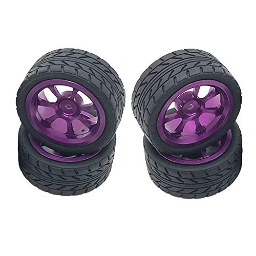 Fingerorthese.LQ - Juego de 4 neumáticos RC Upograde para WLTOYS 144001 A949 A959 A969 A979 K929 RC Rock Buggy Truck Hobby Car - Neumáticos ( Color : Tyres )