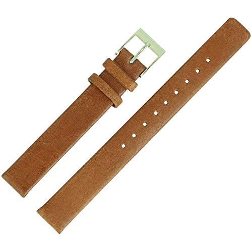 Skagen Uhrenarmband 12mm Leder Braun - SKW2147