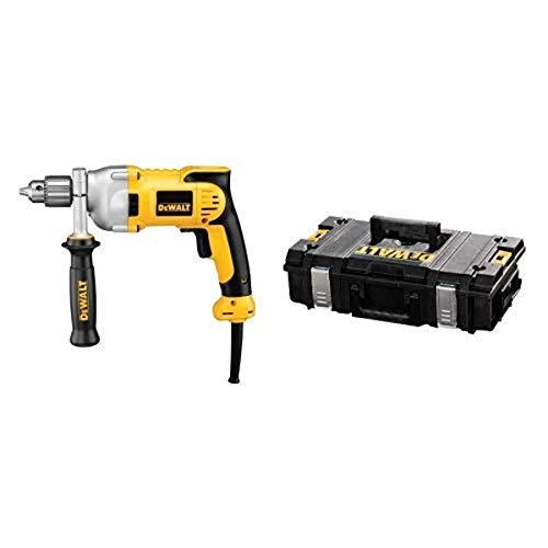 DEWALT DWD210G 10-Amp 1/2-Inch Pistol-Grip Drill with DEWALT DWST08201 Tough System Case, Small