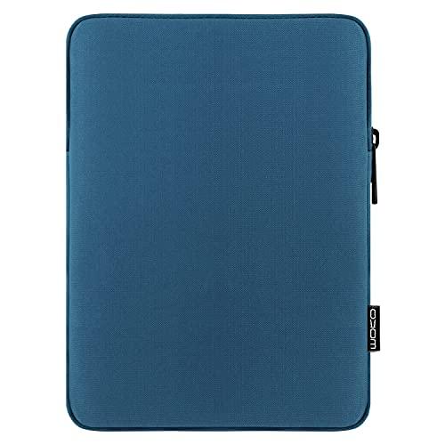 MoKo Funda de Tableta Compatible con 7-8 Inch Tablet, Tablet Sleeve Bag de Tela de Poliéster Protector Portátil Compatible con iPad Mini (5th Gen) 7.9' 2019, iPad Mini 1/2 / 3/4 - Pavo Real Azul