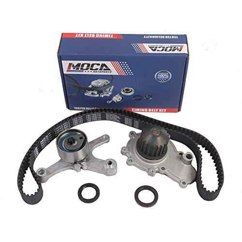 MOCA TCK245A Timing Belt Kit Water Pump Fits 1996-2005 Dodge Stratus & 1996-2001 Plymouth Neon & 1996-2005 Dodge Neon 2.0L L4