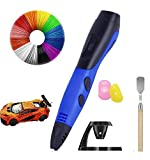 MAXBROTHERS Bolígrafo 3D, bolígrafo de impresión 3D inteligente con filamento de 12 colores