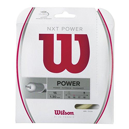 Wilson Saitenset NXT Power, Natur, 12.2 m, 0075260198500016