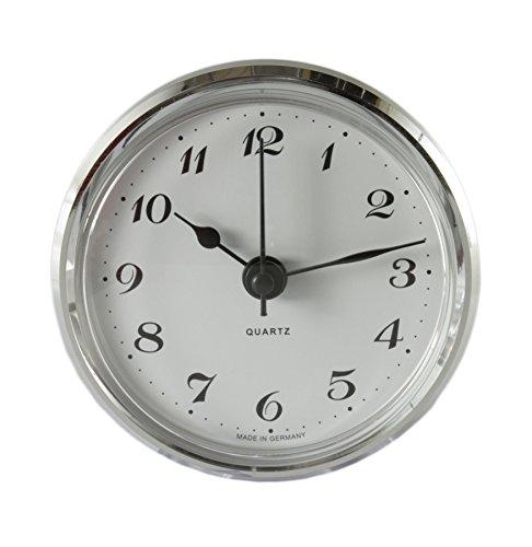 Cloxinelle Uhrwerk | Einsteckuhrwerk | Einbau-Uhr | Modellbau-Uhr | Quartz Uhrwerk | Ø 66 mm | Nr.8074