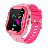 Kids Smart Watch Phone Tracker, WIFI LBS Positioning Smartwatch Phone for Girls Boys