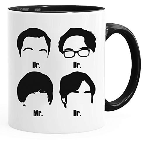 The Big Bang Theory 'Dr Dr Mr Dr' - Fun Keramik Tasse Kaffee Tee Becher –Perfekt Valentines/Ostern/Sommer/Weihnachten/Geburtstag/Jahrestag Geschenk