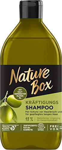 Nature Box Kräftigungs-Shampoo Oliven-Öl, 385 ml