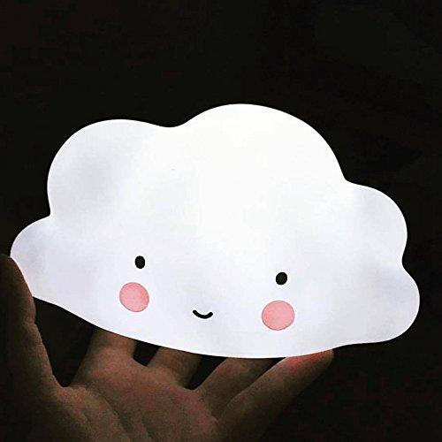 Bainuojia Led Wolken Nachtlicht Kinder Baby Nachtlampe, Kinderzimmer Baby Lampe Fütterungslampe