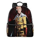 Schulranzen,One Punch-Man College-Taschen, Dekorative Reisetaschen Für Geburtstagsfeiertage,37cm(H)...